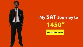 Abdullah's SAT Journey to 1450!