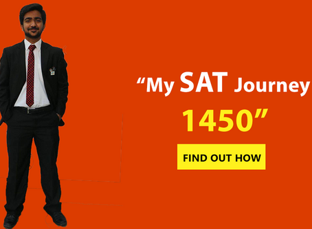 Abdullah's SAT Journey to 1450!