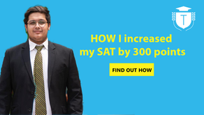 Learn how Haad increased his SAT score by 300 points!
