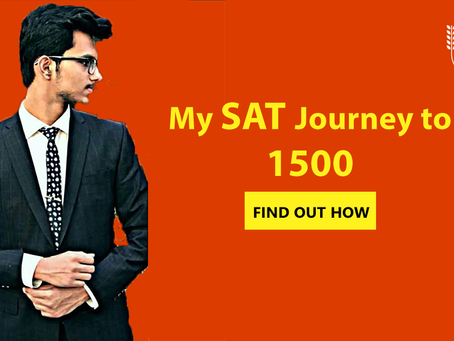 Ahmad's SAT Journey to 1500!