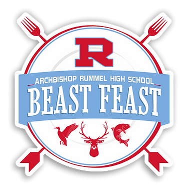 Beast Feast Logo with Shadow Transparent
