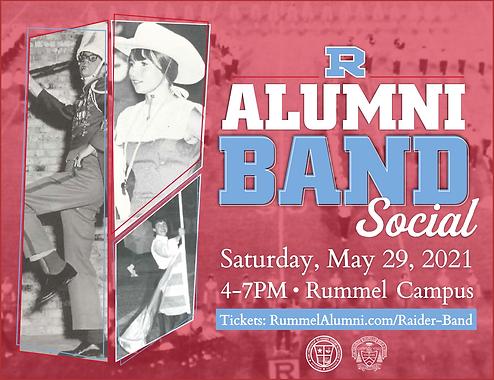 Rummel Alumni Band Social