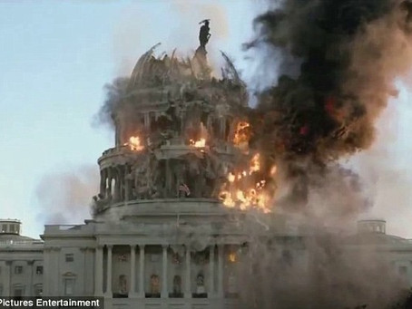 BURNING DOWN THE AMERICAN REICHSTAG: Fear and Loathing in the World's Most Cowardly Deliberative Bod