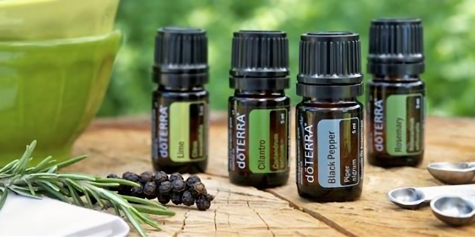 Plant-Based Cooking with Essential Oils