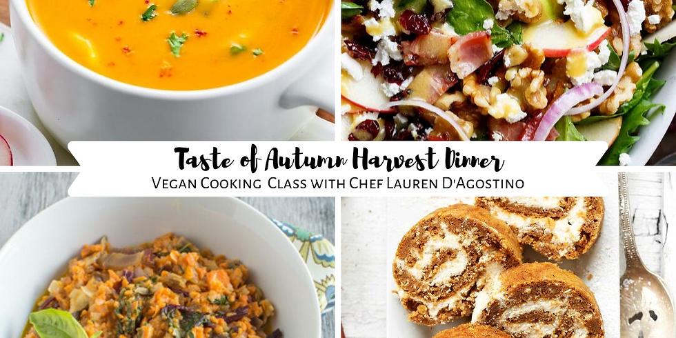 Taste of Autumn Harvest Dinner