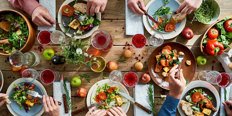 Mindful Meal: Creating High-Vibe Food