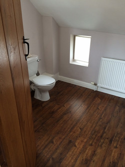 New bathroom floor