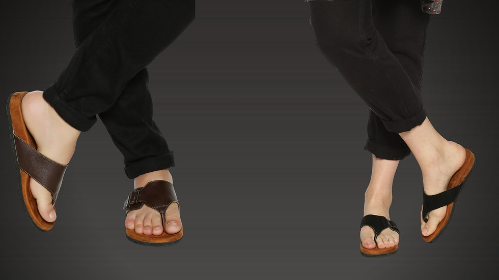 Customised Ortho Slippers and Orthopedic Sandals with Arch Support