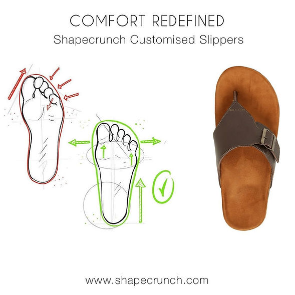 Orthopedic Flipflops and Arch Support Slippers for Men and Women