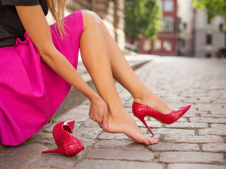 What are the causes for pain in Heel of the Foot ?