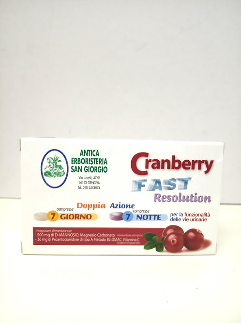 Cranberry FAST resolution compresse