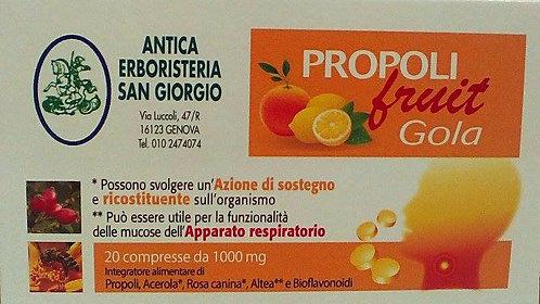 Compresse fruit gola