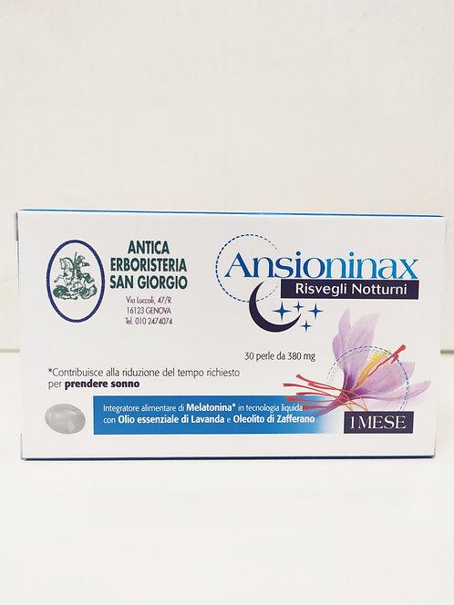 Ansioninax risvegli notturni