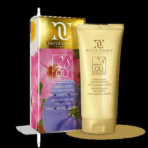 Crema olio multifunzione viso,mani,corpo 200 ml