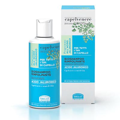 Bioshampoo rimpolpante,reidratante (