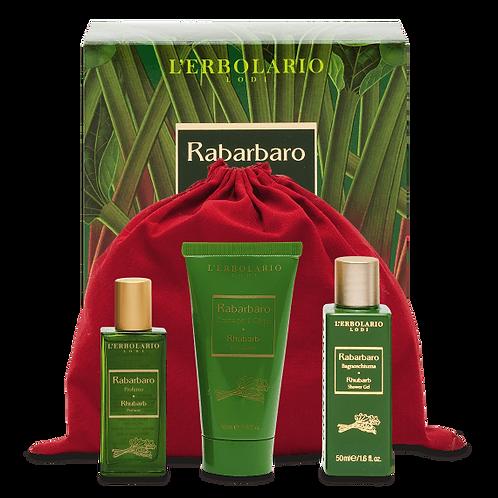 Beauty set viaggio Rabarbaro