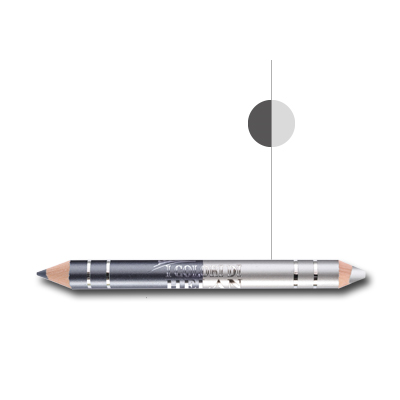 Bio matitone duo occhi-Opaline Grigio antracite