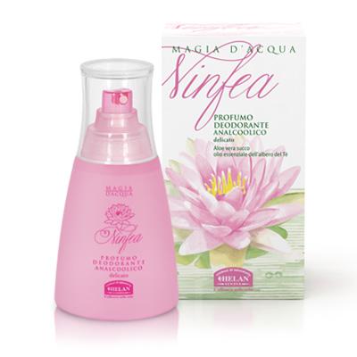 Deodorante profumato senza alcool Ninfea