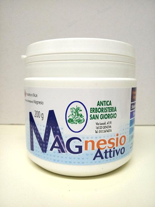 Magnesio attivo polvere 200 g FORMATO FAMIGLIA