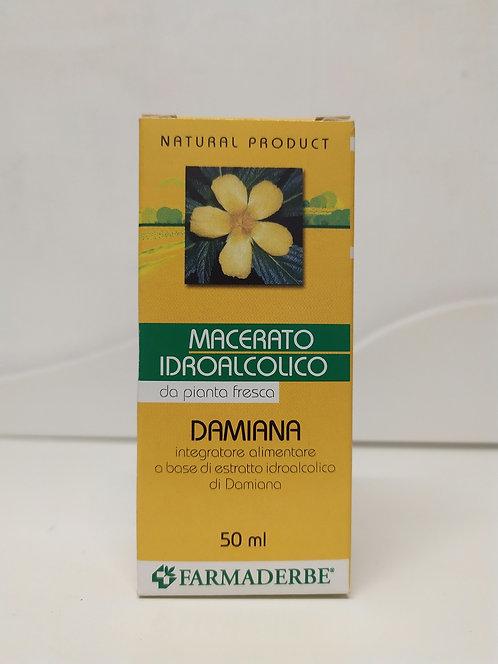 Damiana macerato idroalcolico da pianta fresca 50 ml