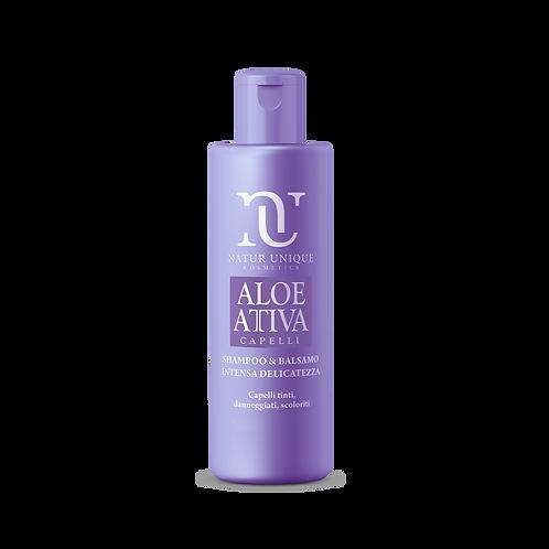 Aloe Shampoo e Balsamo INTENSA DELICATEZZA  250 ml