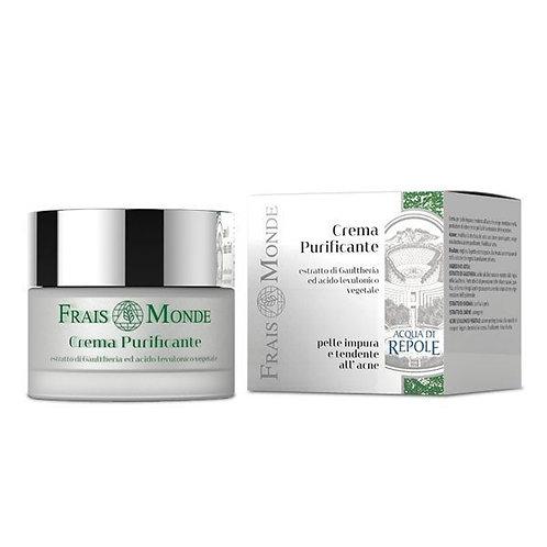 Crema purificante (pelle impura e tendente all'acne)