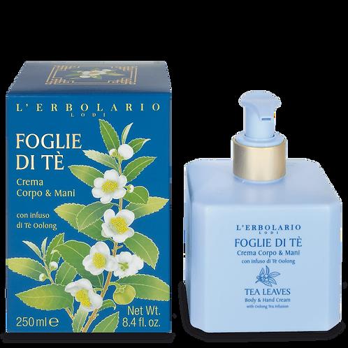 Crema corpo e mani Foglie di tè (250 ml)