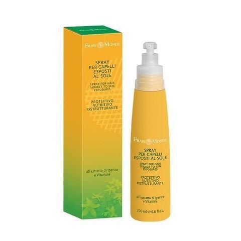 Spray per capelli esposti al sole