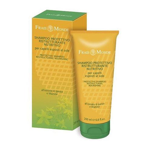 Shampoo protettivo ristrutturante-nutritivo