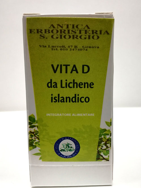 Vita D da Lichene islandico