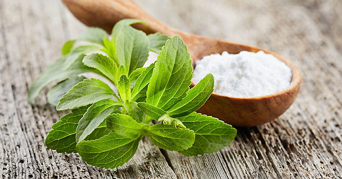 Stevia rebaudiana foglie