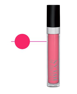 Rossetto liquido effetto lacca colore Rosa Flamingo (4 ml)