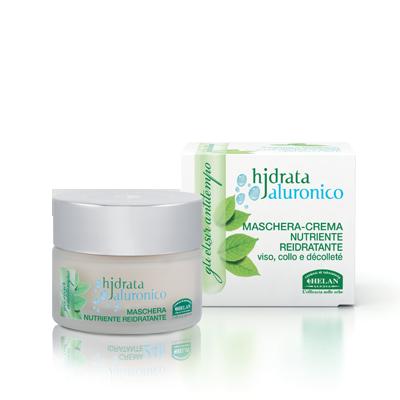 ACIDO IALURONICO maschera-crema nutriente reidratante