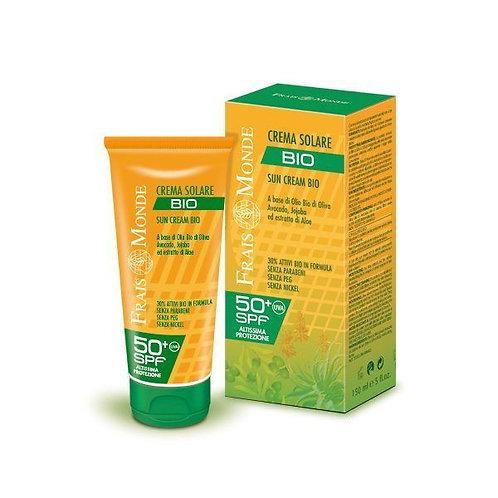 Crema solare idroresistente spf 50+