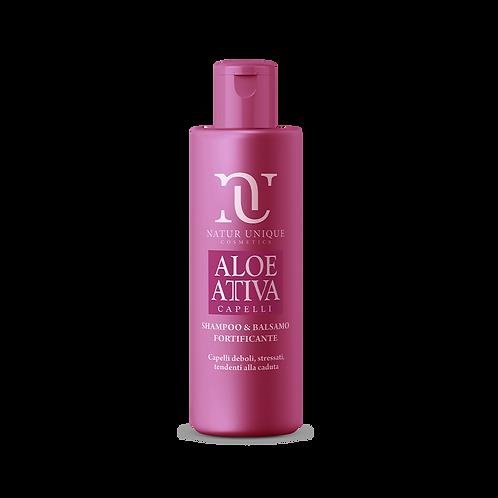 Aloe Shampoo e Balsamo Fortificante  250 ml