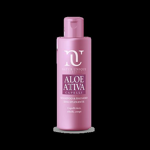 Aloe Shampoo e Balsamo Disciplinante  250 ml