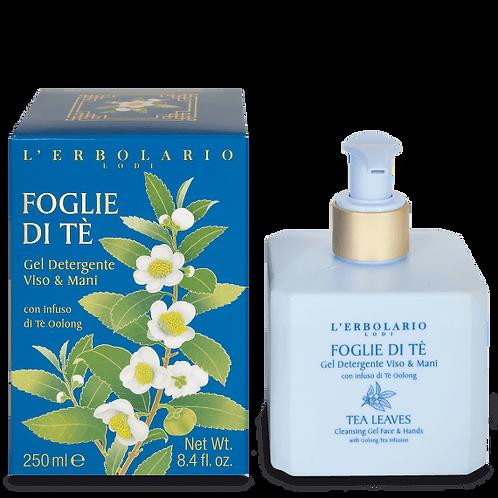 Gel detergente viso e mani Foglie di tè (250 ml)