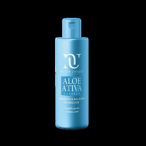 Aloe Shampoo e Balsamo Nutriluce  250 ml