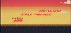 Obia le chef - Zoklo Paradise