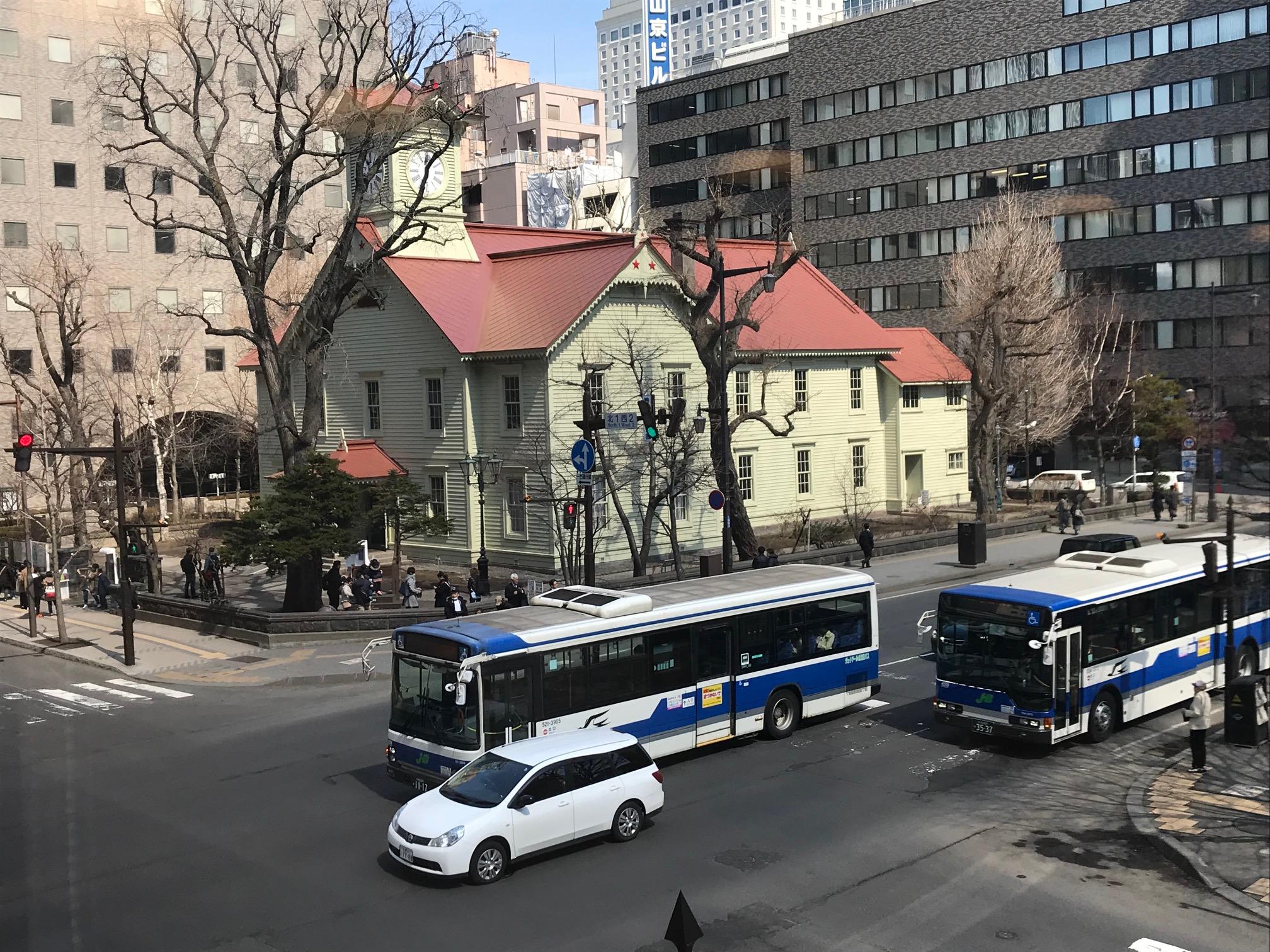 バス(札幌)