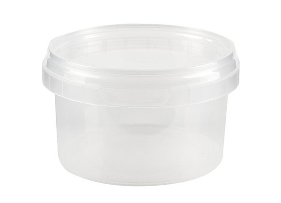 240ml Round Container and Lid Case of 448