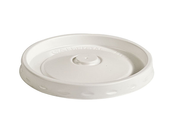 White Lid for Soup Containers Case of 500