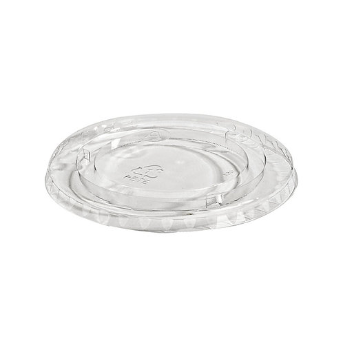 PET Lid without hole to fit 5oz/8oz Sundae Dishes  Case of 1020