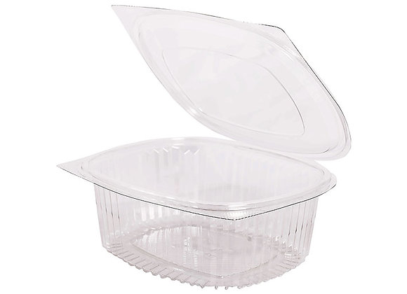 RPET Hinged Salad Container 1500ml Case of 300