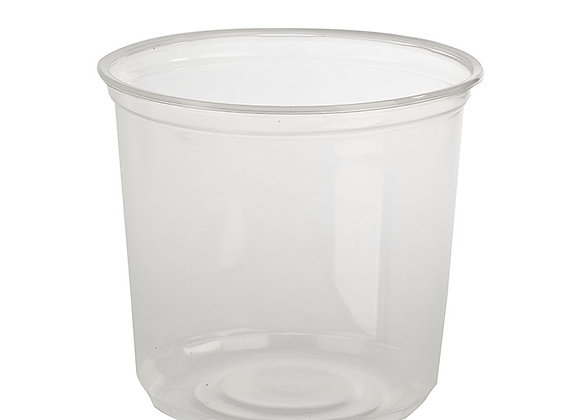 24floz Clear PP Deli Container Case of 500