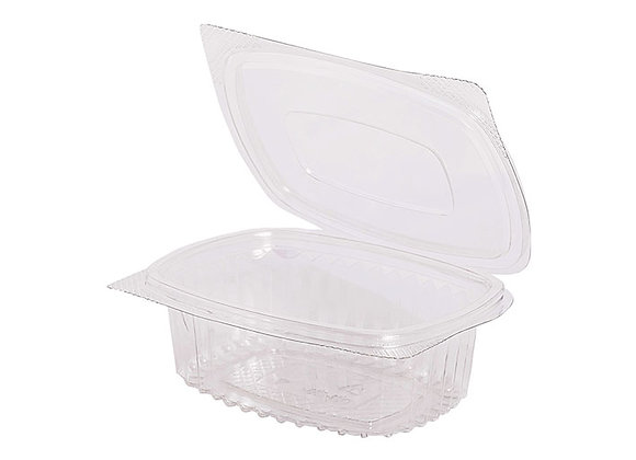 RPET Hinged Salad Container 250ml Case of 600