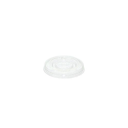 Flat PET Lid for 1oz Portion Pot Case of 5000