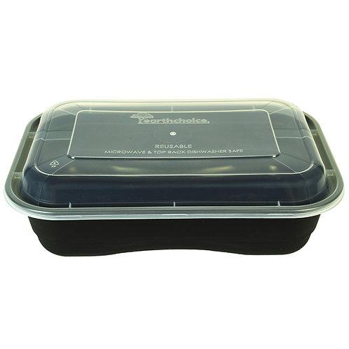 36oz Rectangular Container & Lid Case of 150