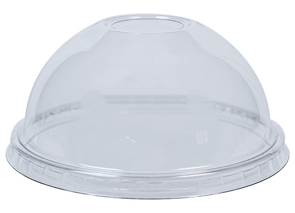 PET Dome Lid with hole to fit 12oz Sundae Dish Case of 900