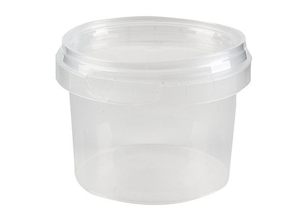 120ml Round Container and Lid Case of 1174